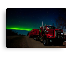 Big Red and the Auroras Canvas Print