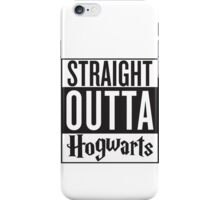 Straight Outta Hogwarts! Harry Potter Compton Mashup Shirt!  iPhone Case/Skin