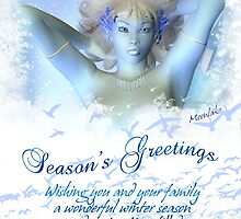 Frost : Christmas Card To Match The Artwork by Moonlake