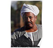 Nile boatman Poster
