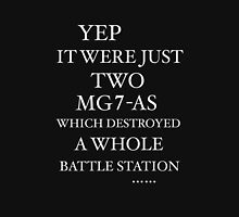 JUST TWO MG7-AS … Unisex T-Shirt