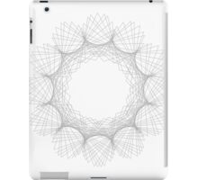 Spirographic 1 iPad Case/Skin