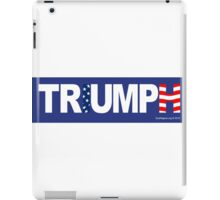 TRUMP TRIUMPH iPad Case/Skin
