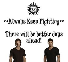 Always Keep Fighting by Mad-Kinks