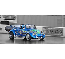 Blue Max Jet Car Photographic Print