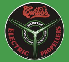 Curtiss Propeller Logo Repro
