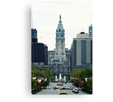 Lookin Down the Parkway Canvas Print
