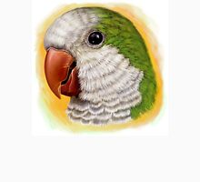 Green quaker parrot realistic painting Unisex T-Shirt