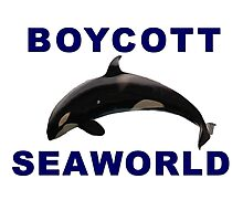 Boycott Seaworld Photographic Print
