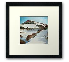Winter Scape Framed Print