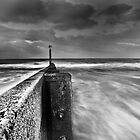 Groyne at Southbourne by Marcus Walters