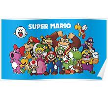 Super Mario and Pals! Poster