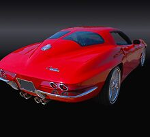 1963 Corvette Stingray Split Window by Thomas Burtney