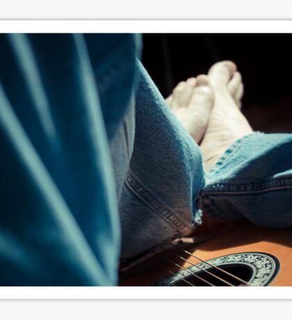 Jeans & Music Sticker
