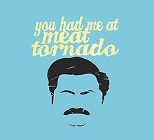 Meat Tornado  by kurticide