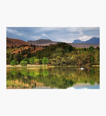 Naverone Lake, Drakensberg, South Africa Photographic Print