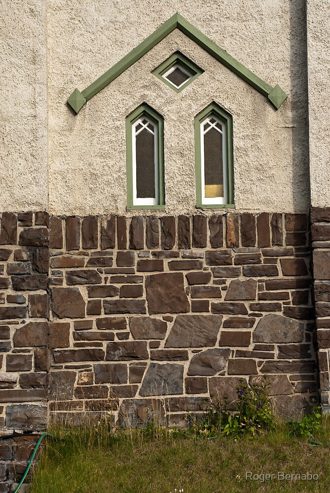 Old Church Window by Roger Bernabo