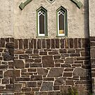Old Church Window by Roger Bernabo