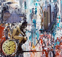 Le Penseur XXI by Josie Duff