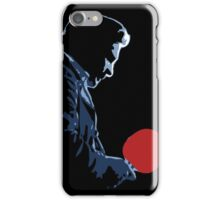 Johnny Cash Red Paddle iPhone Case/Skin