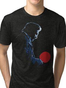 Johnny Cash Red Paddle Tri-blend T-Shirt
