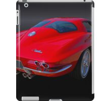1963 Corvette Stingray Split Window iPad Case/Skin