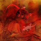 Geckos in Red by pahit