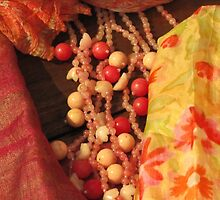 Colours and Silk and Beads Oh My by Janie. D