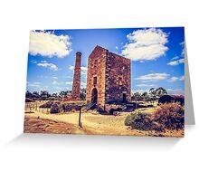 Engine House Greeting Card