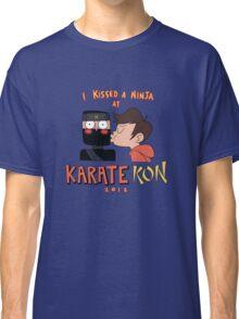 I Kissed a Ninja at KarateKon Classic T-Shirt