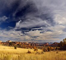 Zion Canyon from Road to Kolob Reservoir by Ryan Houston