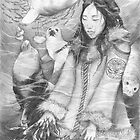 Sedna - the Inuit Sea Goddess by Genevieve  Cseh