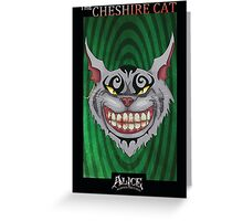 Alice - Cheshire Cat Greeting Card