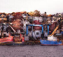 Autumn Morning, Gloucester, Massachusetts by Peter Maeck