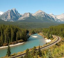 Canadien Pacific Railway Line by Roger Bernabo