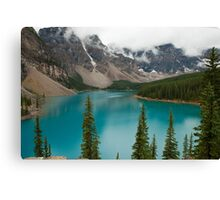 Moraine Lake in Banff National Park, Canada Canvas Print