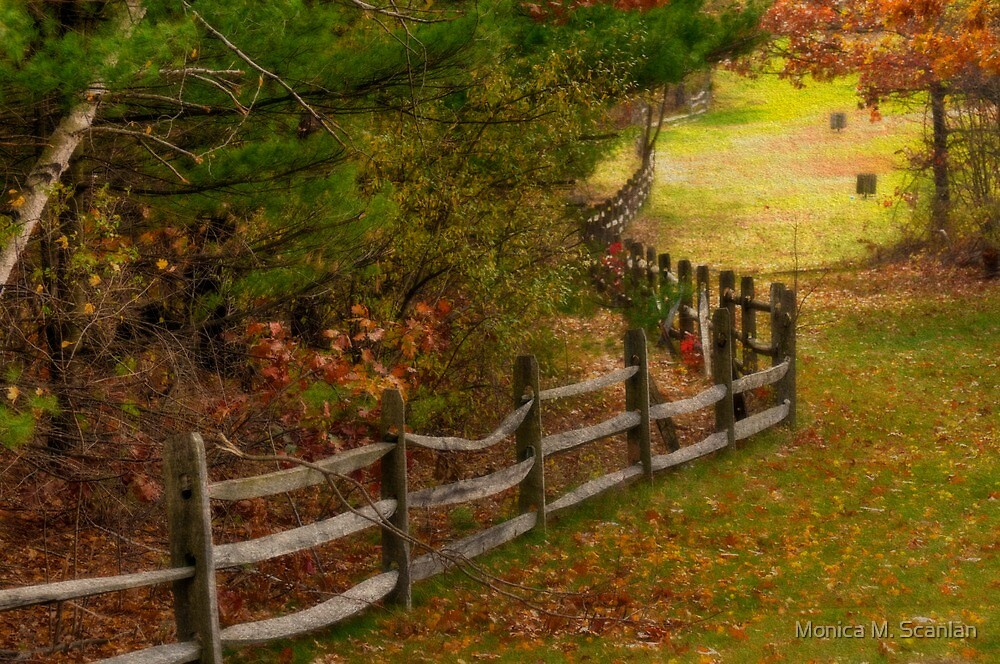 Need To Mend Some Fences by Monica M. Scanlan