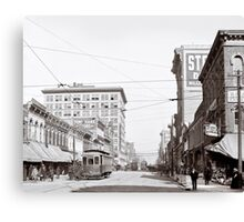 Vintage Downtown Birmingham Alabama Canvas Print
