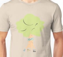 Green world about green life - save tree Unisex T-Shirt