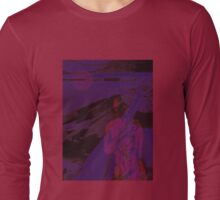 Neo purple thoughts Long Sleeve T-Shirt