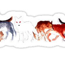 The Wolves of Winterfell Sticker