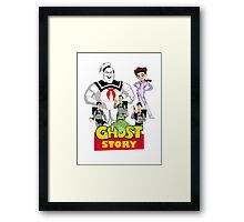 Ghost Story: Ghostbusters + Toy Story mashup Framed Print