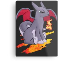 Pocket Charizard Pony ~ Shiny Metal Print