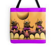 Cat Scratch Feevah Tote Bag