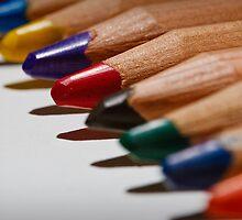 Colour Pencils by Brian Watson