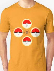 Pokeball Compass T-Shirt
