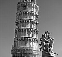Eileen In Pisa by Al Bourassa