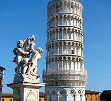 Leaning Tower Of Pisa Repaired By Canadian by Al Bourassa