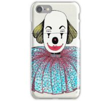 Framed Clown iPhone Case/Skin