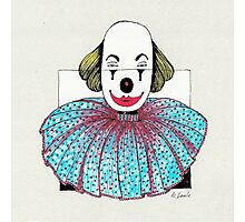 Framed Clown Photographic Print